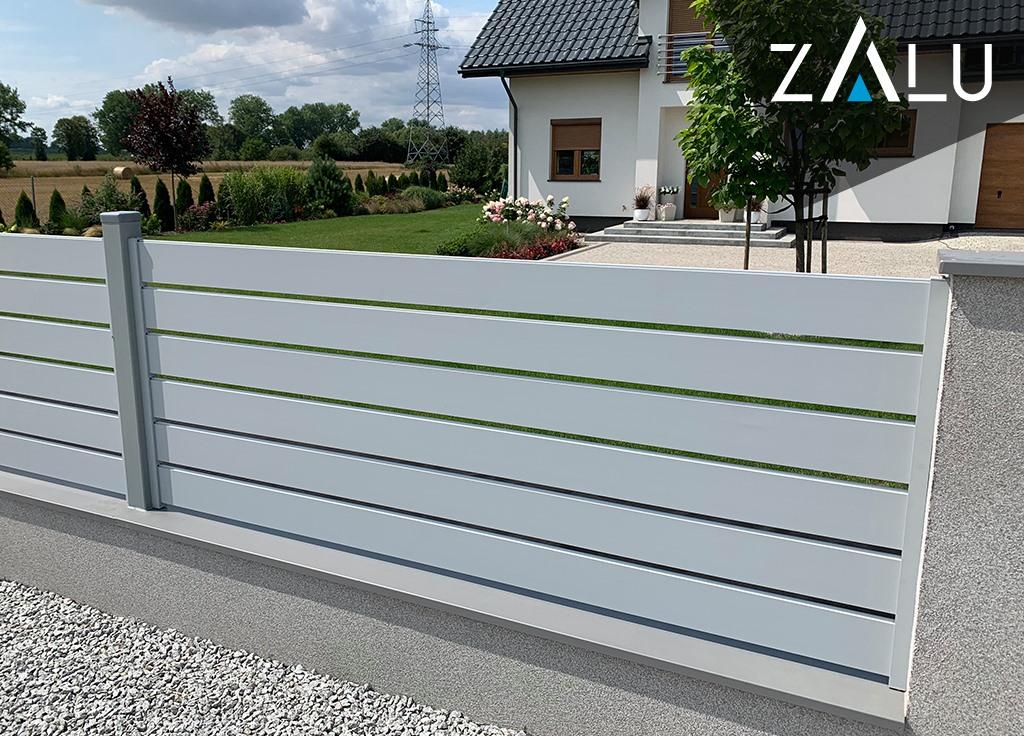 Zalety ogrodzeń aluminiowych